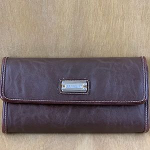 Capezio Brown Leather Wallet